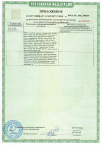 Сертификат продукции Varmann 2