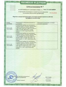 сертификация IRSAP TESI 8