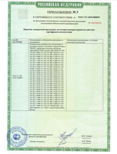сертификация IRSAP TESI 4