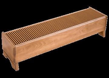Напольный дизайн-конвектор Techno Vita Wood