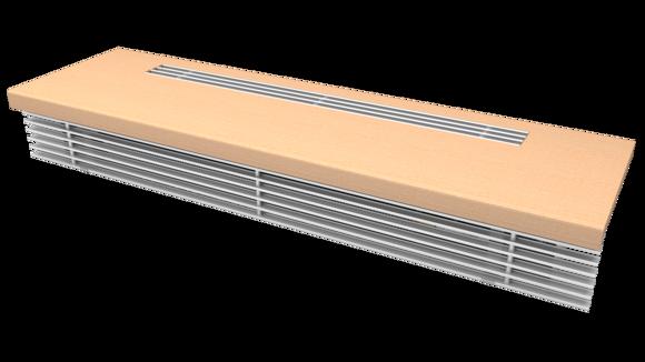 Парапетный отопительный конвектор EVA COIL KBP