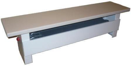 Медно-алюминиевый конвектор-скамья