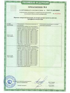 сертификация IRSAP TESI 7