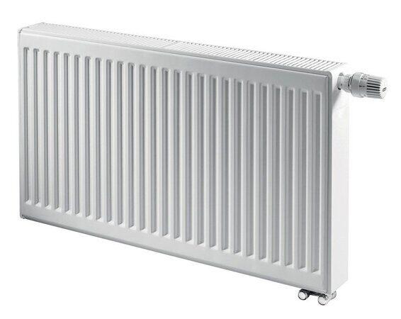 радиаторы AXIS Ventil, с нижним подсоединением и встроенным термовентилем.