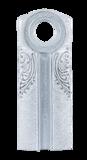 Античное серебро белое : Черный C1:PBK